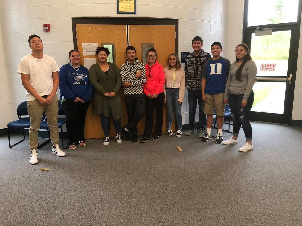 TZ Tribal School's 2018-2019 Student Council